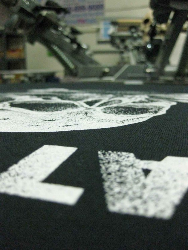 Catspit Tee on Press